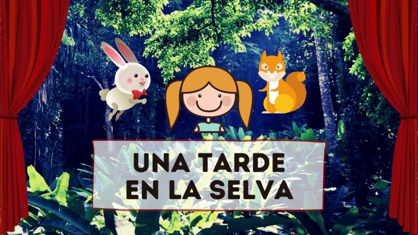 Obra De Teatro Corta De Animales Para Niños Preescolares 3 Personajes