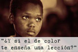 Obra de teatro sobre discriminación racial para niños (7 personajes)