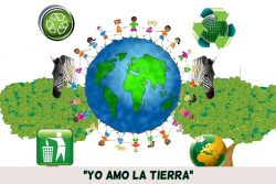 Obra sobre la importancia de cuidar el planeta (6 personajes)