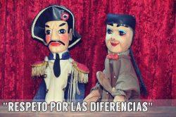 Obra sobre la importancia de respetar las diferencias (12 personajes)