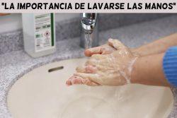 Obra sobre la importancia de lavarse las manos ( 4 personajes)