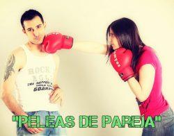 Obra sobre peleas de pareja (4 personajes)