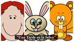 Obra de teatro corta de animales para niños preescolares (3 personajes)