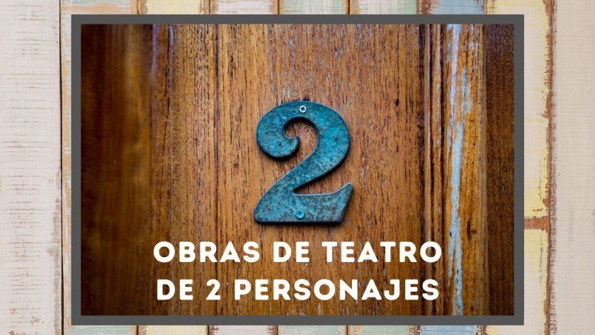 Obras de teatro de 2 personajes