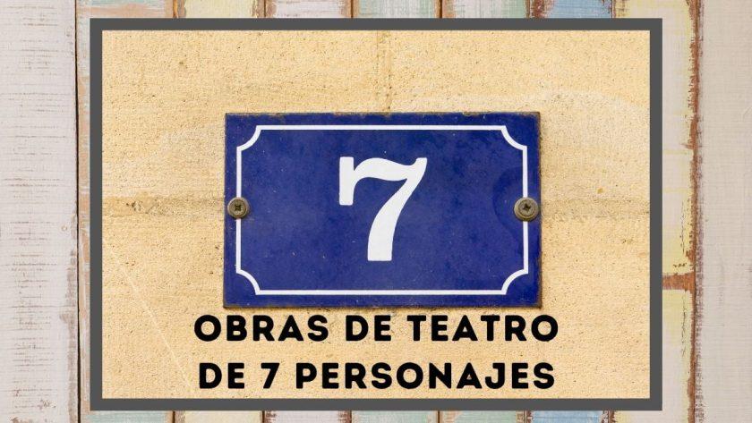 Obras de teatro de 7 personajes