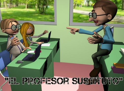 Obra El Profesor Sustituto